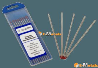 標準寸法 棒材 タングステン電極 トリウムタングステン電極棒