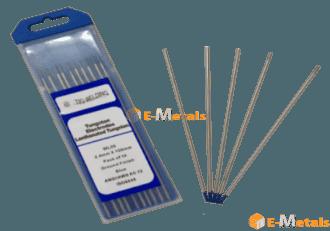 標準寸法 棒材 タングステン電極 ランタナタングステン電極