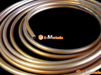 標準寸法 丸パイプ 銅 銅管(軟) - C1220T-O