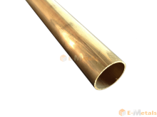 真鍮 真鍮(C2700T) - 丸パイプ