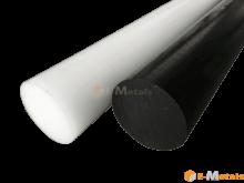 エンジニアリングプラスチック ジュラコン(POM)黒 - 丸棒