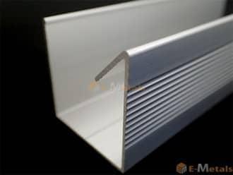 標準寸法 エクステリア材(母屋材) アルミ建材/板材 A6063S-T5 エクステリア材(母屋材) ブラック(ツヤ消)