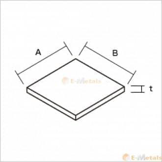 標準寸法 板材 アルミ建材/板材 A1050-H24 切板 シルバー(生地)