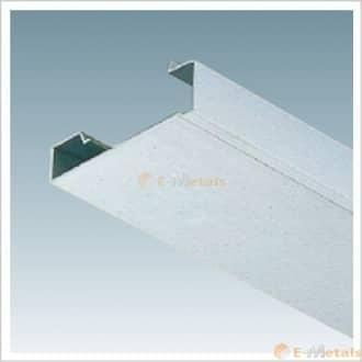 標準寸法 アルミ下端笠木 LU型 アルミ(メーカー品) アルミ下端笠木 LU型