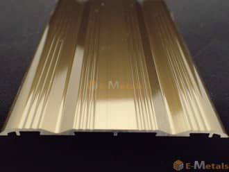 標準寸法 ウイングレール アルミ(メーカー品) フロアレール(ウイングレール) ウイングレール66W 木目ナチュラル