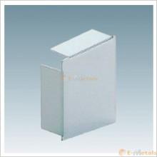アルミ(メーカー品) アルミ水切 LC-E型  小口蓋(右・内観視)
