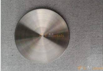 標準寸法 丸板材 ハフニウム Hf (3N) - Zr<0.5% 丸板材(t11~20mm)