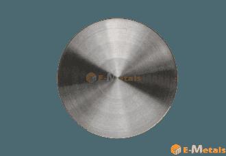 標準寸法 丸板材 クロム クロム - 99.5% 丸板材(t31~40mm)