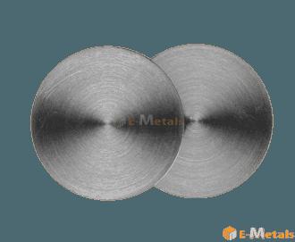 寸切 丸板材 高純度チタン チタン - 99.995% 丸板材