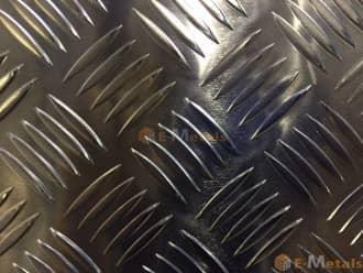 標準寸法 縞鋼板 アルミ縞板 A5052 - 5本線