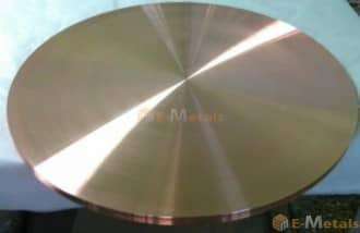 輸入直販 丸板材 銅 銅 - 99.99% 丸板材
