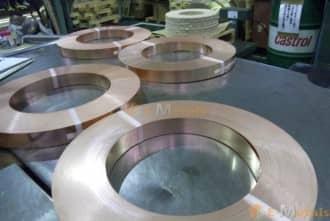 寸切 コイル(重量販売) 銅 C1100(タフピッチ銅) - コイル