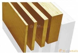 標準寸法 板材 ベリリウム銅 ベリリウム銅 - 50合金 板材