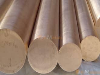 寸切 棒材 ベリリウム銅 ベリリウム銅(25合金) - 丸棒
