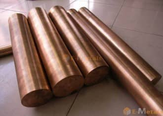 寸切 棒材 クロム銅 クロム銅(JIS Z3234 2種) - 丸棒