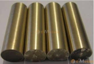 寸切 棒材 アルミ青銅 アルミ青銅(C6191B) - 丸棒