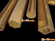 銅 真鍮四(C3604B) - 角材