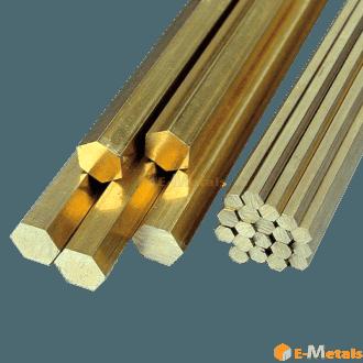 六角形 銅 真鍮(C3604B) - 六角材
