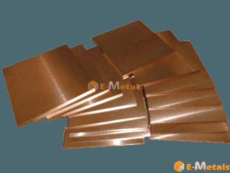 板材 テルル銅 テルル銅(快削銅-C14500) - 板材