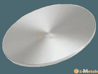 標準寸法 丸板材 銀タングステン Ag-W(65) - 丸板材 t11~20mm