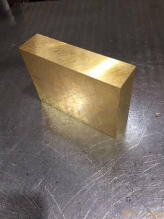 寸切 板材 真鍮 快削黄銅(C2801P) - 板材