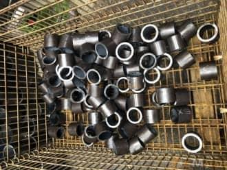 寸切 丸パイプ 構造用鋼 炭素鋼鋼管 - S45C